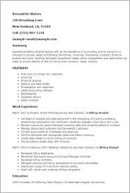 Sample Resume For Analyst by Professional Billing Analyst Templates To Showcase Your Talent