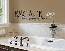 bathroom rules wall sticker quote funny vinyl decal graphic