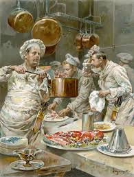 Cooks In The Kitchen by Of Cooking U0026 Gender Edwardian Promenade