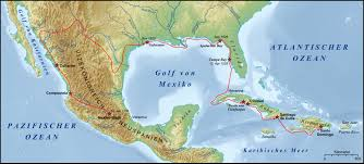Florida Shipwrecks Map Cabeza De Vaca álvar Núñez The Handbook Of Texas Online Texas