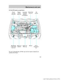 brake fluid ford contour 1998 2 g owners manual