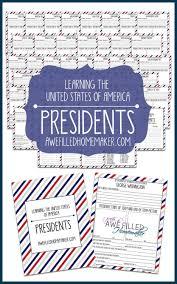 president u0027s day unit study awe filled homemaker