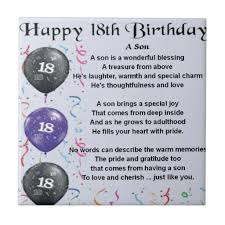birthday quotes for son turning 18 quotes pinterest birthday