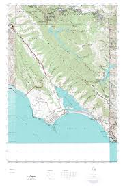 Tyler State Park Map by Mytopo Bolinas California Usgs Quad Topo Map