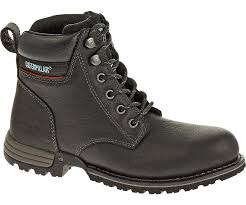 womens steel toe boots nz freedom steel toe work boot black cat footwear