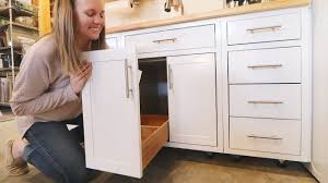 kitchen cabinet doors and drawers hack turn any cabinet door into a drawer