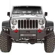 jeep bumper fab fours jeep wrangler 2007 2017 vengeance full width front hd