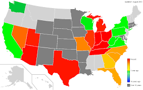 heat map us states united states map by year us map thempfa org