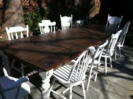 distressed dining room tables 12 foot farmhouse table reclaimed wood distressed dining table