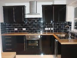 rustic kitchen backsplash white granite mosaic designs dark brown
