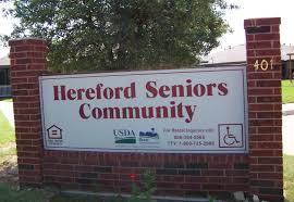 hereford seniors community 401 jack griffin dr hereford tx