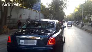 roll royce sky rolls royce ghost in pune youtube