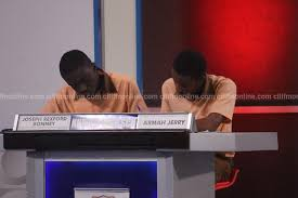 Thomas Aquinas Desk Nsmq2017 Aquinas Beats Presec Kumasi High To Enter Grand Finale