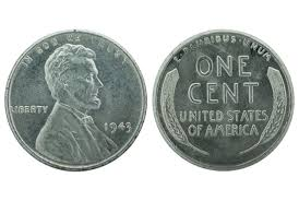 What Is A 1943 Copper Wheat Penny Worth by In 1943 U S Pennies Were Made Of Steel Mental Floss