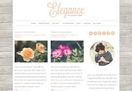 Elegance by Elegance Wordpress Theme Beautiful Dawn Designs
