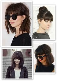 should i get bangs for my hair to hide wrinkles best 25 half moon bangs ideas on pinterest thick bangs trim
