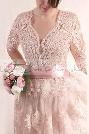 plus size lace short blush pink wedding party lace dress