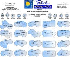 shapes of pools shapes jpg 900 1 517 pixels yard pinterest pool shapes pool