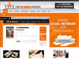 alumni website software the alumni portal alumni management software web directory