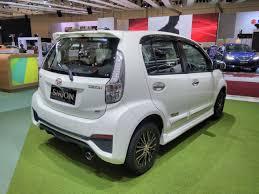 daihatsu daihatsu sirion special edition giias 2017 right rear three