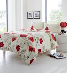 Red And Cream Duvet Cover Cheap Poppy Red Duvet Cover Find Poppy Red Duvet Cover Deals On