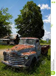 Vintage Ford Truck Junk Yards - old junkyard rusty pickup truck editorial photo image 73177246