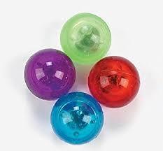 rubber bouncing balls 1 dozen bulk toys