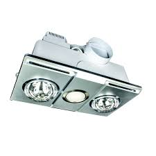 supernova 3 in 1 bathroom heat 2 light exhaust unit silver