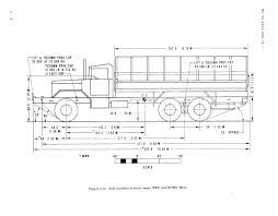 figure 2 16 side elevation of truck cargo wwn and wown m814