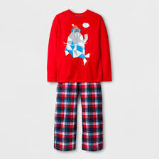 boys stay cool walrus pajama set cat target