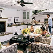 outdoor kitchen decorating ideas coastal living