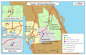 Florida Orlando Map by 5 Key Ingredients To Create A Mega Region Urbanscale Com