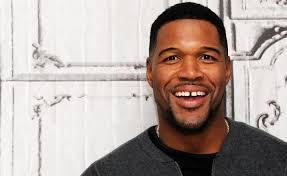 michael strahan new haircut michael strahan reveals he s in a serious relationship huffpost