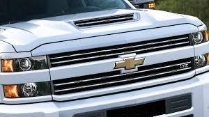 chevrolet and gmc slap hood scoops on heavy duty trucks