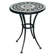 Mosaic Bistro Table Buy Palma Mosaic Bistro Table From Our Garden Tables Range Tesco