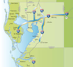 Map Of Usa With Highways by Tampa Advocates Are Fighting Like Hell Against A 6 Billion