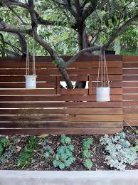 hanging planters u0026 fence fencing pinterest gardens planters