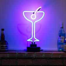 martini bar sign bar martini neon sculpture icon neon