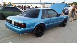Fox Body Black Interior 1992 Bimini Blue Notchback Black Interior Cleeeeaaaaannn