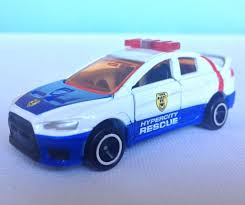 tomica mitsubishi outlander tomica 067 rescue mitsubishi lancer evolution x toy car die