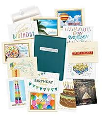 Box Birthday Cards Amazon Com Birthday Cards Assortment Box 35 Cards And 38