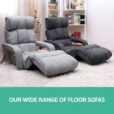 Chaise Lounge Sofa With Recliner by Lounge Sofa Bed Floor Armchair Folding Recliner Chaise Chair