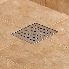 thornton square shower drain bathroom