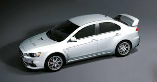 mitsubishi lancer 2017 white mitsubishi lancer evolution x anniversary edition launched