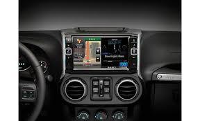 jeep wrangler navigation system alpine x009 wra in dash restyle system custom fit navigation