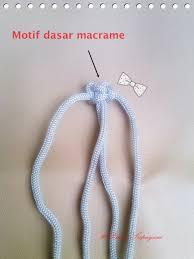 cara akhir membuat tas dari tali kur about macrame cara membuat awal tas macrame tali kur