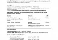 resume format for boeing sample resume format for fresh graduates one page format