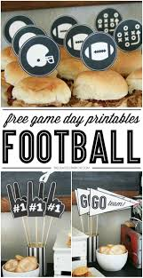 football water bottle labels free printable football party