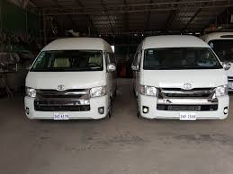 toyota hiace vip taxi service and cars rental cars bus rental
