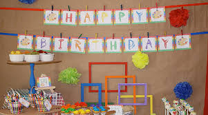 Birthday Decoration Ideas At Home For Husband Art Party Birthday Party For Kids Pbs Parents Pbs
